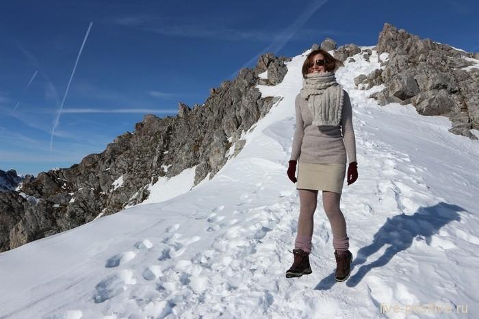 в Альпах