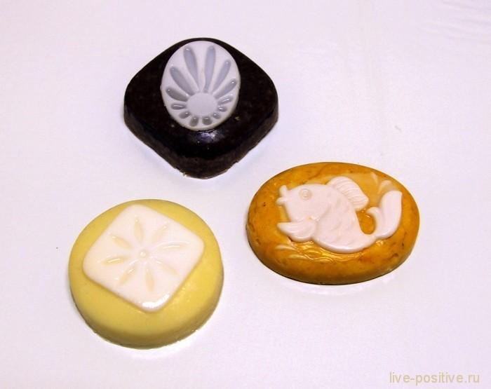 облепихово-медово-ванильное мыло