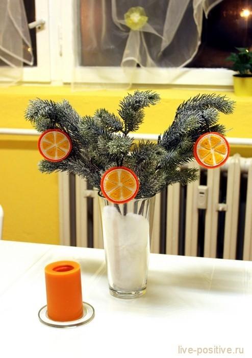 апельсиновая елка