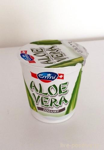 йогурт с алоэ