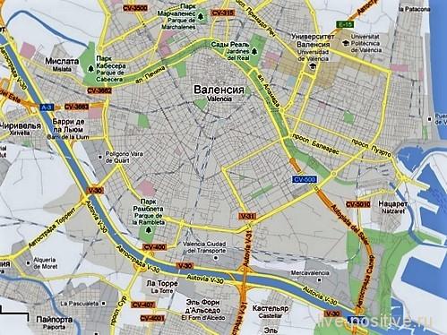Турия на карте