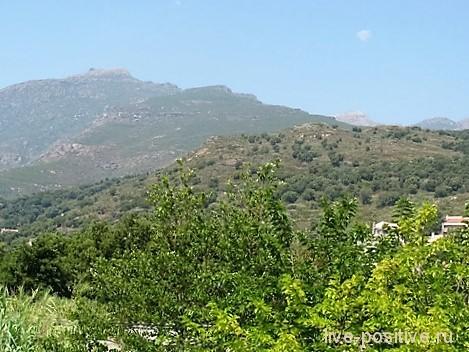 Горы на Корсике