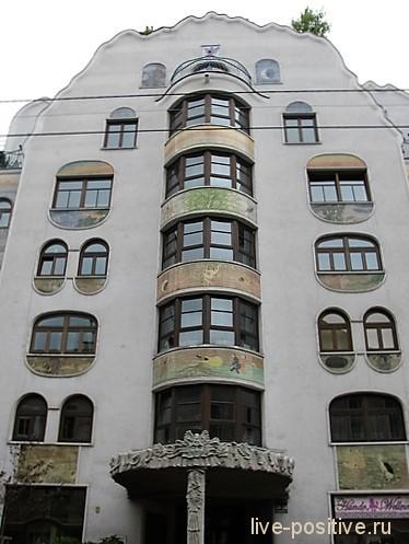 Дом в Вене, архитектор Арик Брауэр