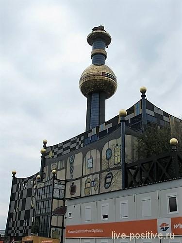 Завод по утилизации отходов в Вене