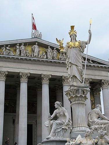 Афина Паллада в Вене