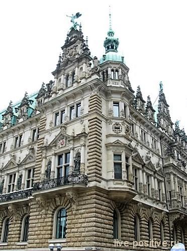 Городская ратуша в Гамбурге