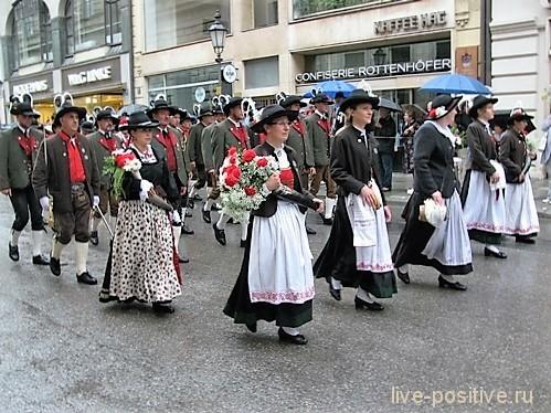 Участники Октоберфеста