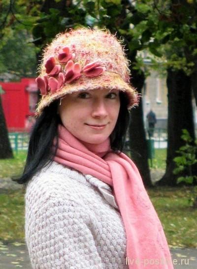 шляпка и шарфик