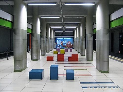 Внутри метро