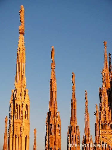 На крыше Milano Duomo