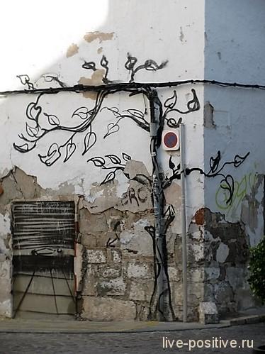 Дерево-кабель