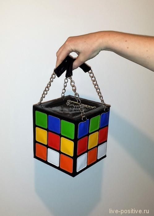 """Сумочка """"кубик Рубика"""""""