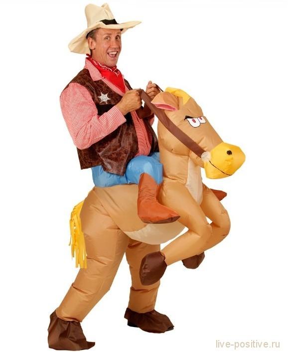 Костюм ковбой на лошади своими руками