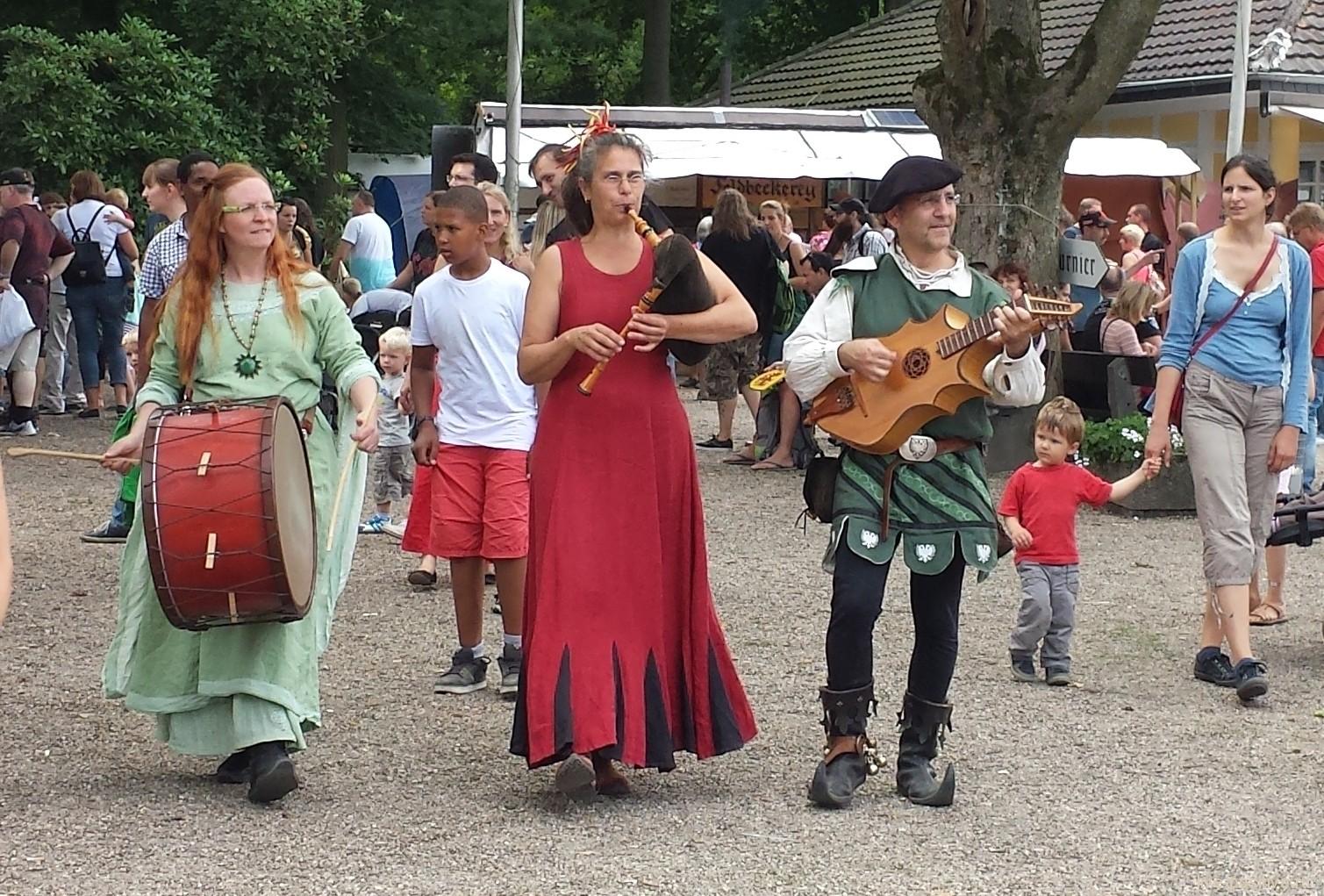 Средневековый фестиваль 1